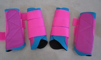 Horse Exercise & Jumping Boots 2 Pairs SAVE $ Australian Made Any size or colour