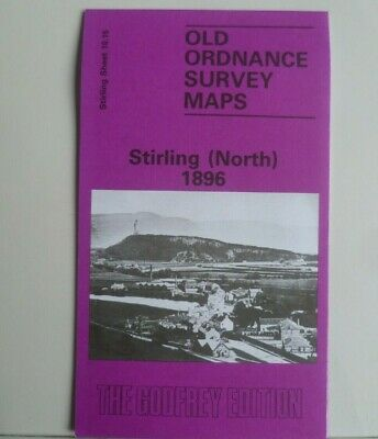 Old Ordnance Survey Map Historic City  Stirling (North) Scotland 1896 S10.15 New