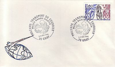 4272+  Philexpo Transport Du Courrier Gray 1984