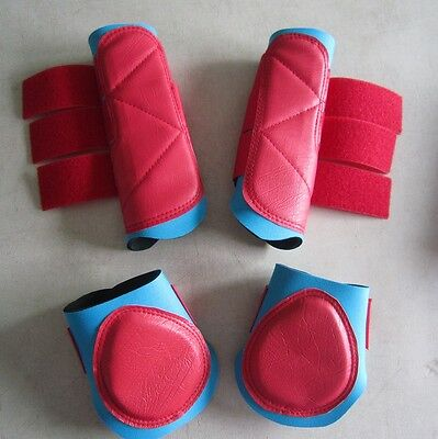 Horse Boots 1 pair Exercise boots & 1 pair Backboots Any size and colour combo