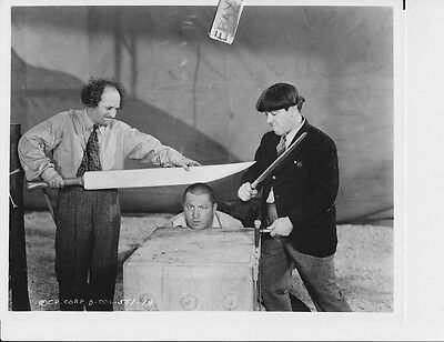 Three Stooges Photo from Original Negative