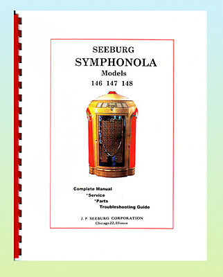 Seeburg Symphonola Manual 146 -148