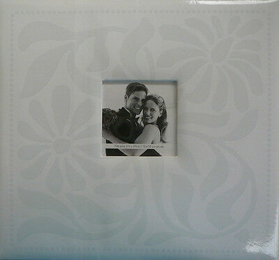12'X12' Wedding Post Bound Scrapbook Album White - Crafty Koala