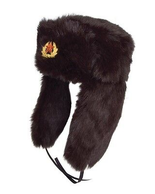 New East German (DDR) Style Cossack Hat Cold Weather Winter Hat