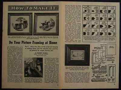 PICTURE FRAMES HowTo Build PLANS Basic Framing INFO