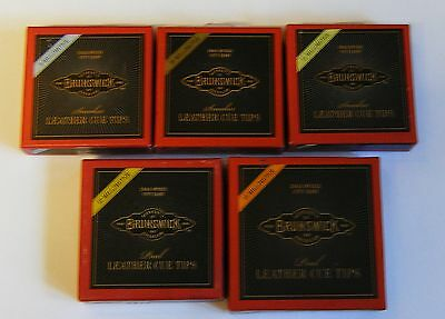10 x Blue Diamond Cue Tips for Snooker Pool Cues ALL SIZES NEW