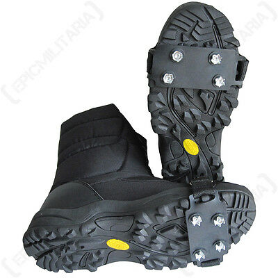 Winter Ice grips - Snow Boots Shoes Walking Hiking Skiing Survival Outdoor New