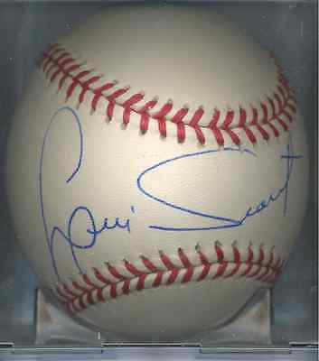 Luis Tiant New York Yankees OAL Autographed Baseball Boston Red Sox COA Twins