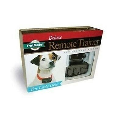 PetSafe Deluxe Remote Trainer System 4 Little Dogs Shock Collar Life Warranty!