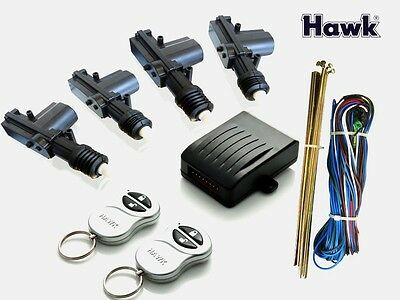 Universal*Remote* Keyless Central Door Locking Kit *Ltd Edition* Silver Fobs*