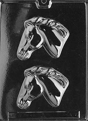 Animals HORSE HEAD Chocolate Candy Mold Soap 4 1/4 x 3 3/4