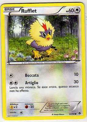 POKEMON 4X Vullaby PV50 68//98  NB Nuove Forze