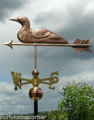 Sweet Loon Weathervane Made In The Usa #358
