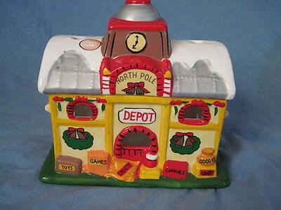Santa's 1984 Depot ceramic collectable cl-1003