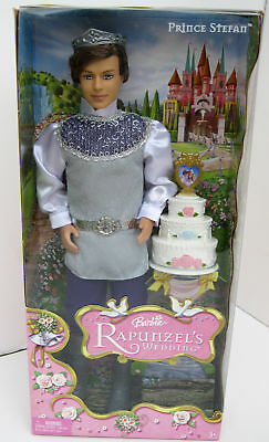 Barbie Rapunzel's Wedding Prince Stefan NIB - from 2005 and now hard to find