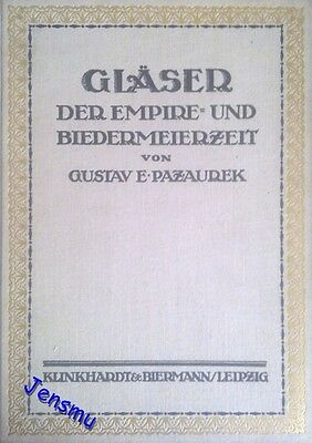 Original old german Book Glasses of the Empire and Biedermeier period