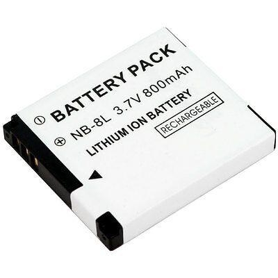 Two NB-8L Battery for Canon PowerShot A2200 A3000 IS A3100 IS A3200 IS A3300 IS