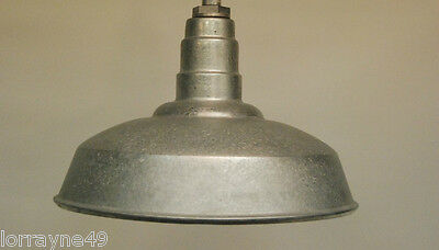 "RLM  Dome 20"" Industrial Lighting Fixture galvanized"