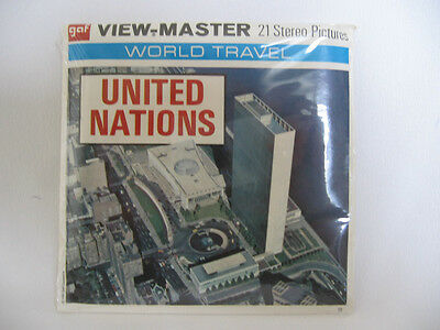 """VIEWMASTER """"UNITED NATIONS"""" #A651 SEALED"""