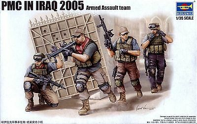Trumpeter 1/35 419 PMC in Iraq 2005 Armed Assault Team