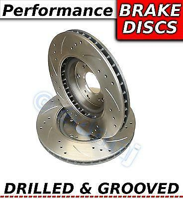 Front Vented Brake Discs VW Polo 1.3 G40 Coupe 87-90 115HP 239mm