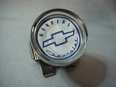 GENIUINE CHEVY  SUICIDE BRODIE STEERING WHEEL SPINNER  KNOB FOR YOUR CLASSIC