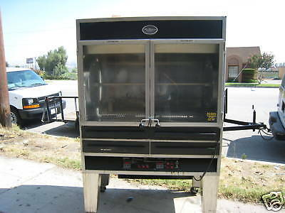 Rottiseri . Nat Gas /chicken,bbq Etc ,  Complete,big Unit, 900 Items On E Bay