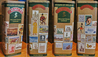 EMMETS IRELANDs Creme Liqueur Stamps of Ireland Tin LIMITED EDITION VERY RARE