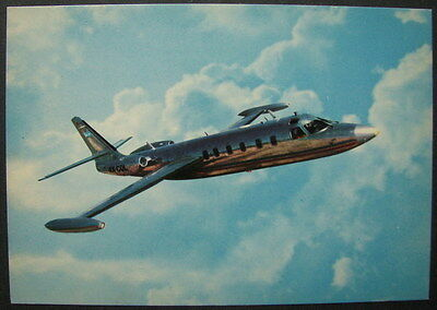 ISRAEL AIR CRAFT INDUSTRIES COMMODORE PLANE JET ELEVEN-23 OLD PC POSTCARD 70's