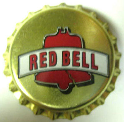 RED BELL Beer CROWN Bottle Cap w/ cracked Liberty Bell Philadelphia PENNSYLVANIA