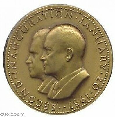 President Dwight Eisenhower 1957 Official Inaugural Medal
