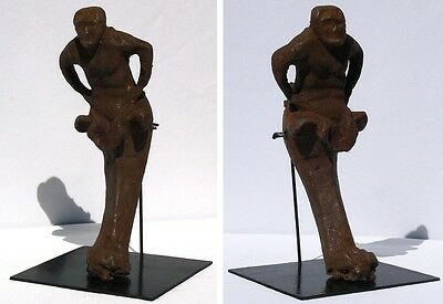 An Extraordinary Cast Iron Figure from the 1800's.