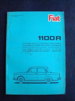 FIAT 1100R BODYWORK SPARE PARTS CATALOGUE 1st Ed NOVEMBER 1966 ref-603.10.093