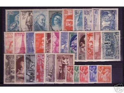 Timbres  Annee  Complete  France Neuf  Luxe  1939 +++
