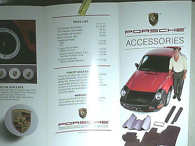 Prospectus Accessoires Porsche 1989 : Front Mask 911 944 928 / English Edit.