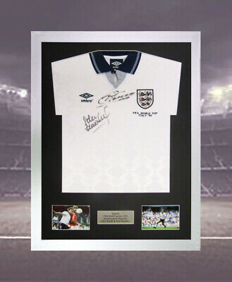 "Shirt Frame Display For Signed Football Shirt 2 x Windows For 6"" x 4"" pics Lscpe"
