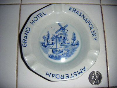 royal sphinx delft ashtray Grand Hotel Krasnapolsky SEE