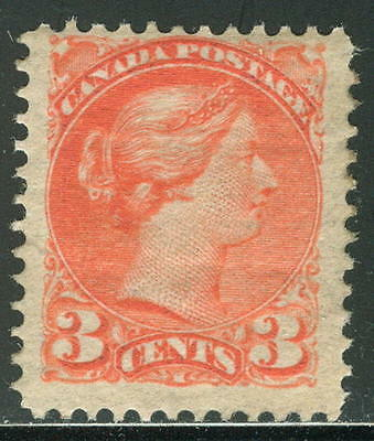Canada 1873 3c QV, MLH US$120!