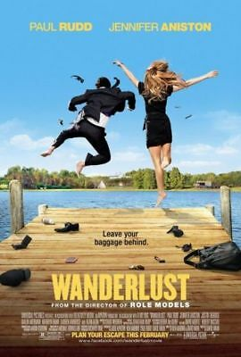WANDERLUST - 2012 Orig D/S 27x40 Movie Poster- JENNIFER ANISTON, PAUL RUDD