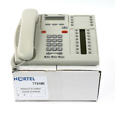 Nortel Norstar T7316E Charcoal Avaya Phone Refurb Lot / 1 Year Warranty