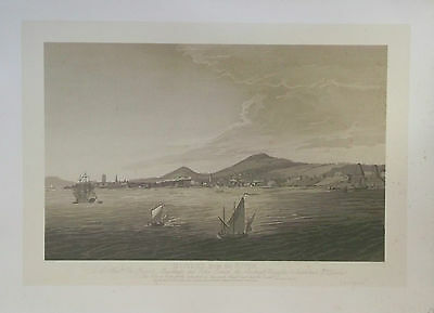 "DUNDEE - ""Dundee from the River"" with info. - Municipal Print 1895"
