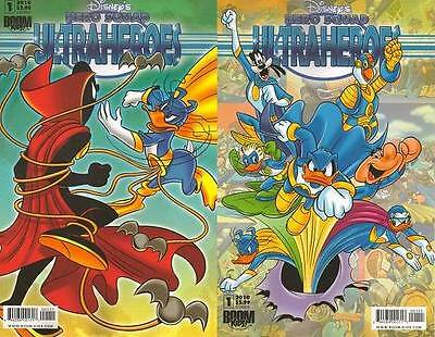 A & B DISNEY's HERO SQUAD ULTRAHEROES #1 comic BOOM KIDS 1st print DONALD DUCK
