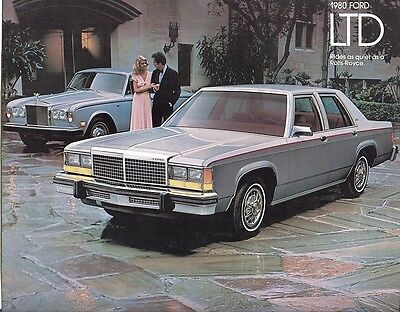 1980 Ford LTD Sales Brochure LTD Crown Victoria/LTD Wagon/LTD Country Squire
