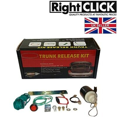 Electric boot (trunk) release / Door Popper KIT EBRK