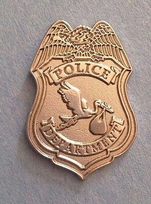 Police Department STORK PD PIN Stork Pin
