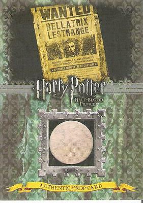 HARRY POTTER HALF BLOOD PRINCE BELLATRIX WANTED POSTER P10 PROP CARD VARIANT A