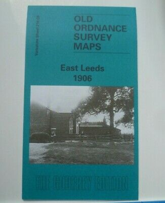 Old Ordnance Survey Maps East Leeds Yorkshire 1906 Sheet 218.03 Godfrey Edition