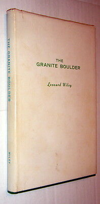 The Granite Boulder Frederic Balch,Leonard Wiley,VG/FAIR,HB,1970,1st,Sgnd,  p1