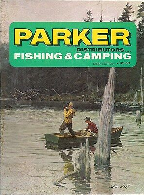 Parker Fishing & Camping Vintage Sporting Catalog 42nd Edition New Rochelle NY