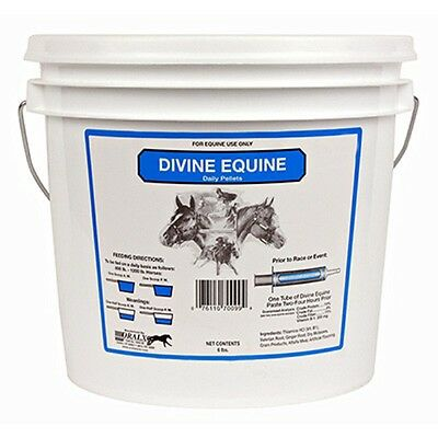 Divine Equine Calm and Cool Horse Pelleted Daily Supplement Herbs Amino Acids 6#